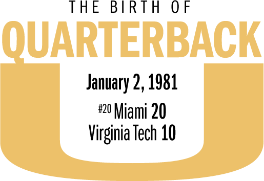 The birth of Quarter Back